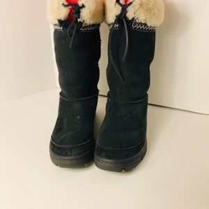 UGG Suede & Sheep Skin Winter SZ 8 Winter Boots